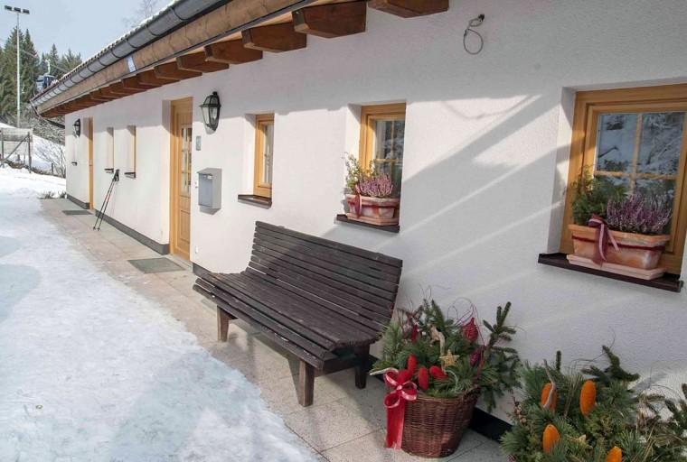 Ferienhaus Oberberg - Skiurlaub direkt an der Piste in Flachau