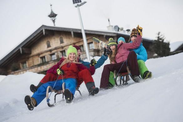 Winterurlaub - Flachau - Rodeln