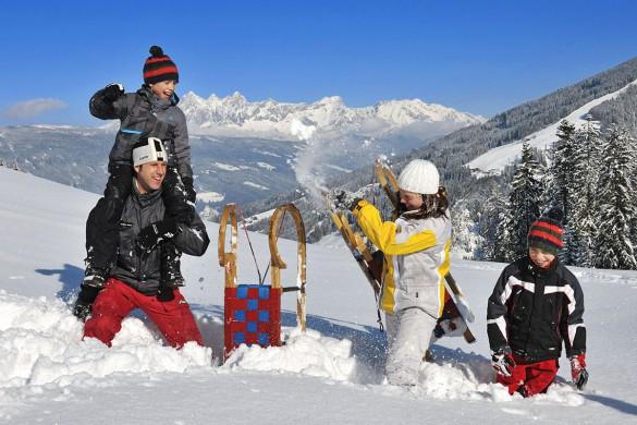 Rodeln - Flachau - Salzburger Land